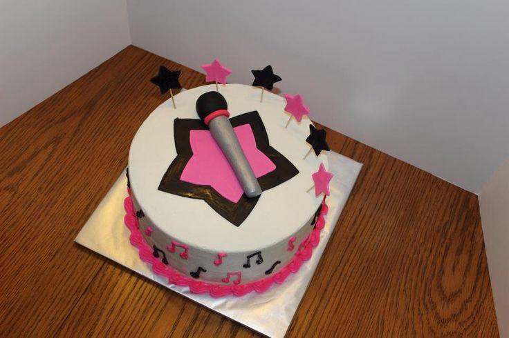 Microphone Cake Ideas