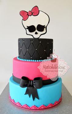 Monster High Birthday Party Cake