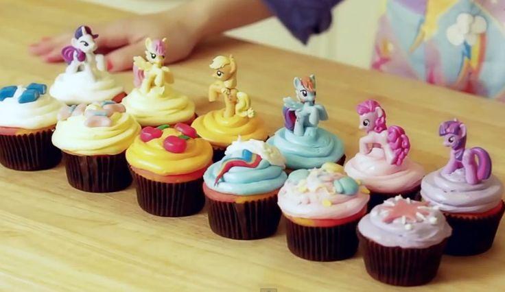 My Little Pony Cupcakes NERDY NUMMIES