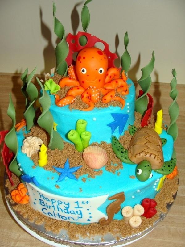 Ocean Cake Decorations