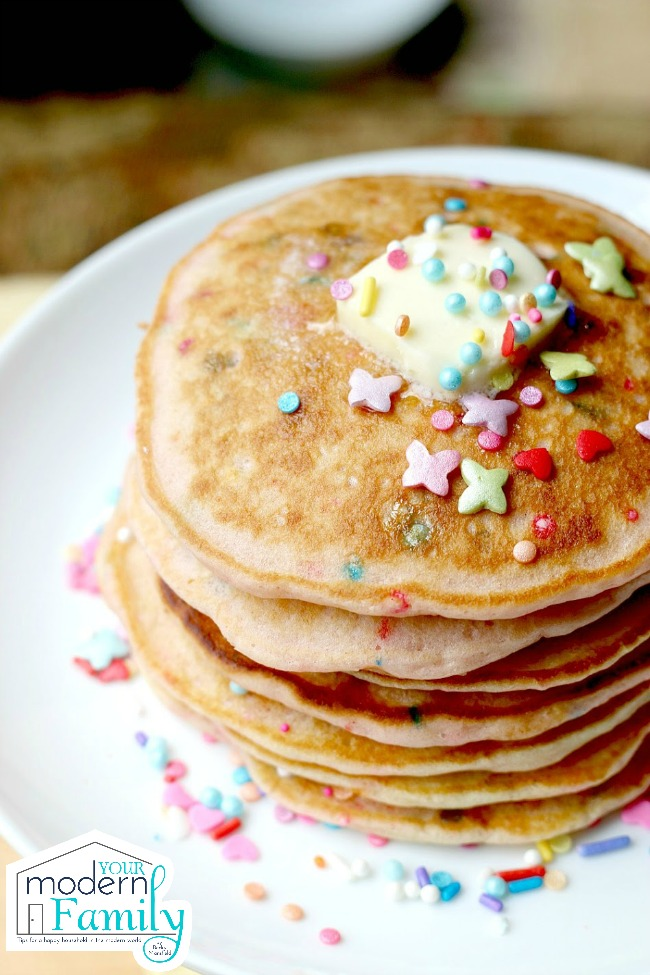 Pancakes with Sprinkles