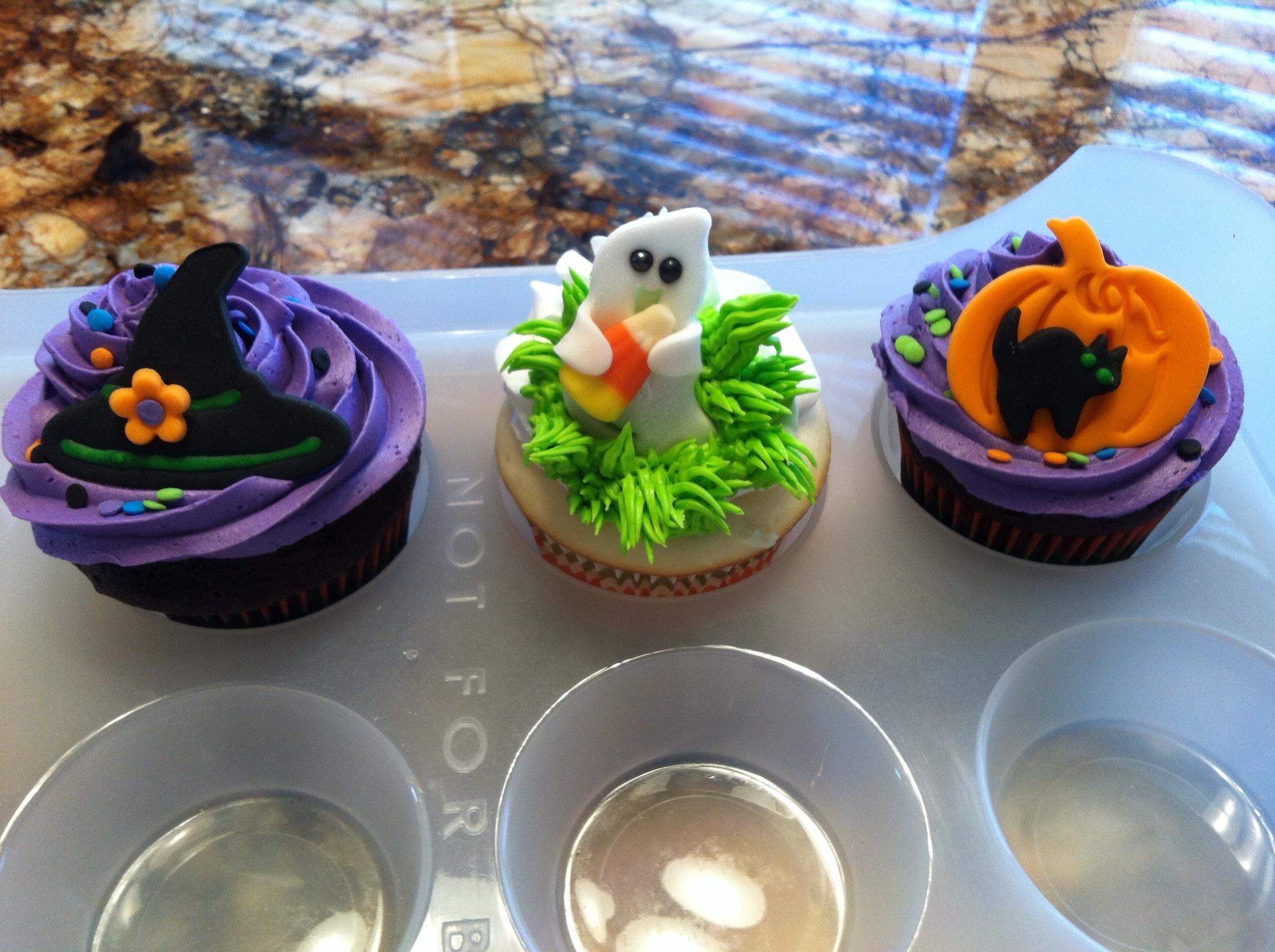 Pinterest Halloween Cupcakes