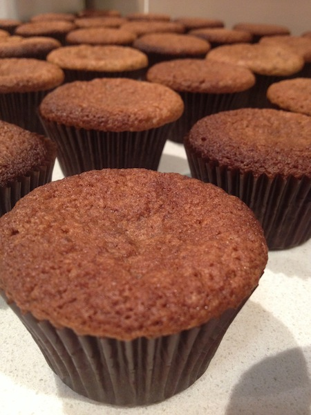 Plain Chocolate Cupcake