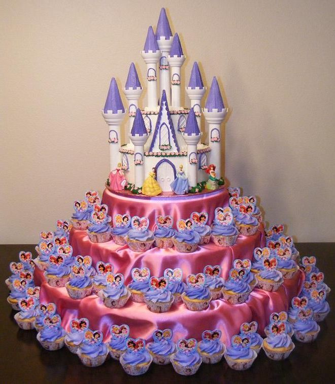 9 Photos of Princess Cakes Pinterest