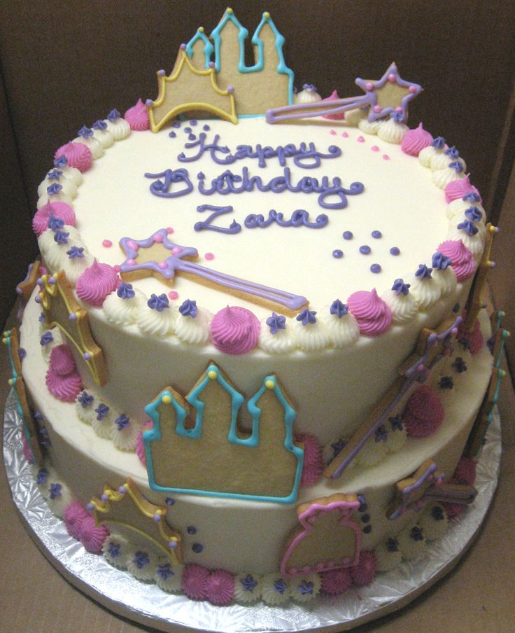 Princess Cakes On Pinterest