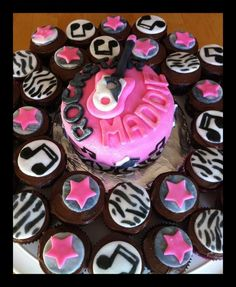 Rock Star Cupcakes