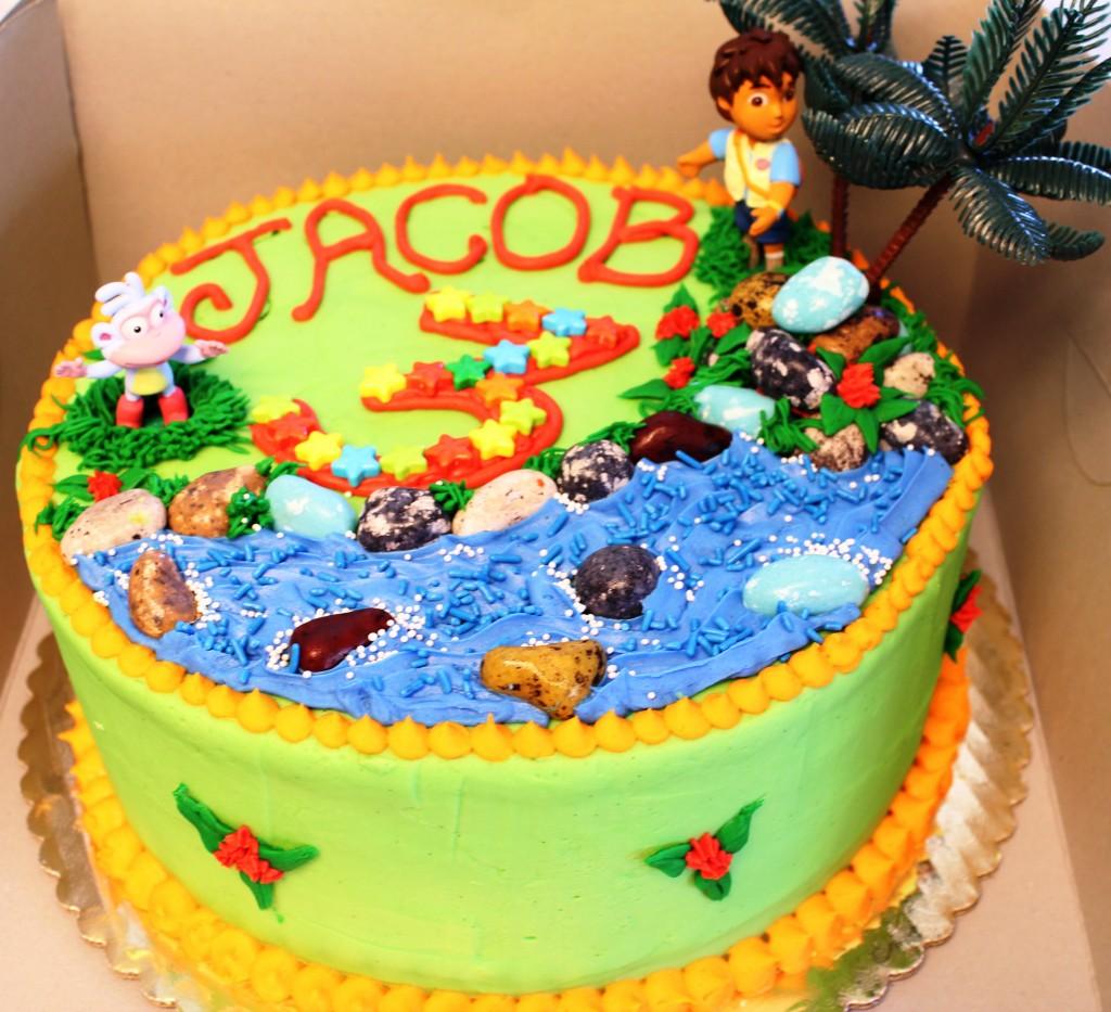 San Diego Birthday Cake
