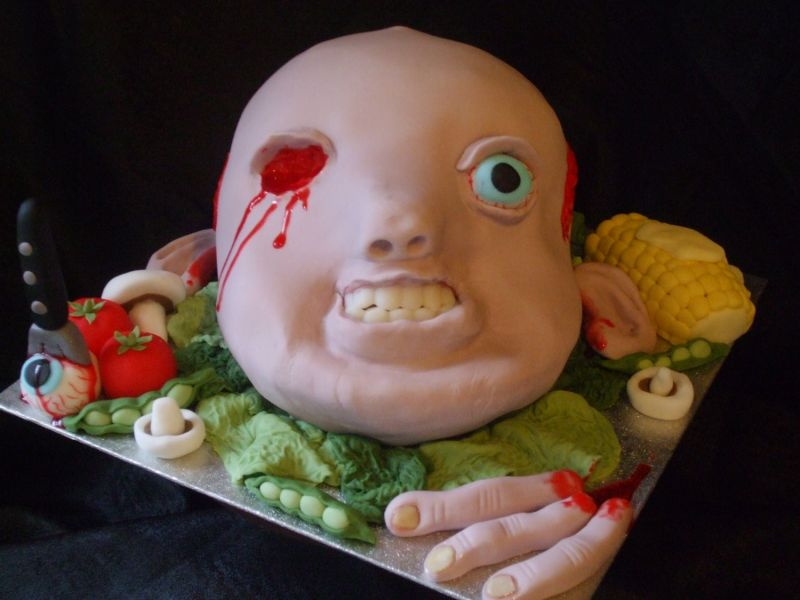 Scary Halloween Cakes for Kids