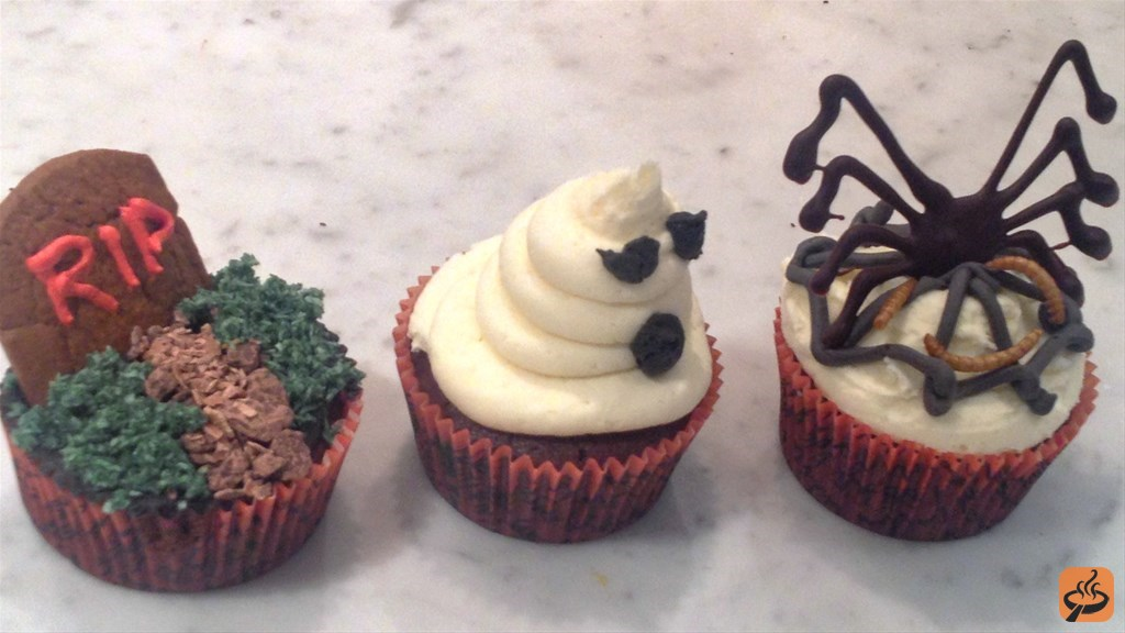 Scary Halloween Cupcakes Recipe