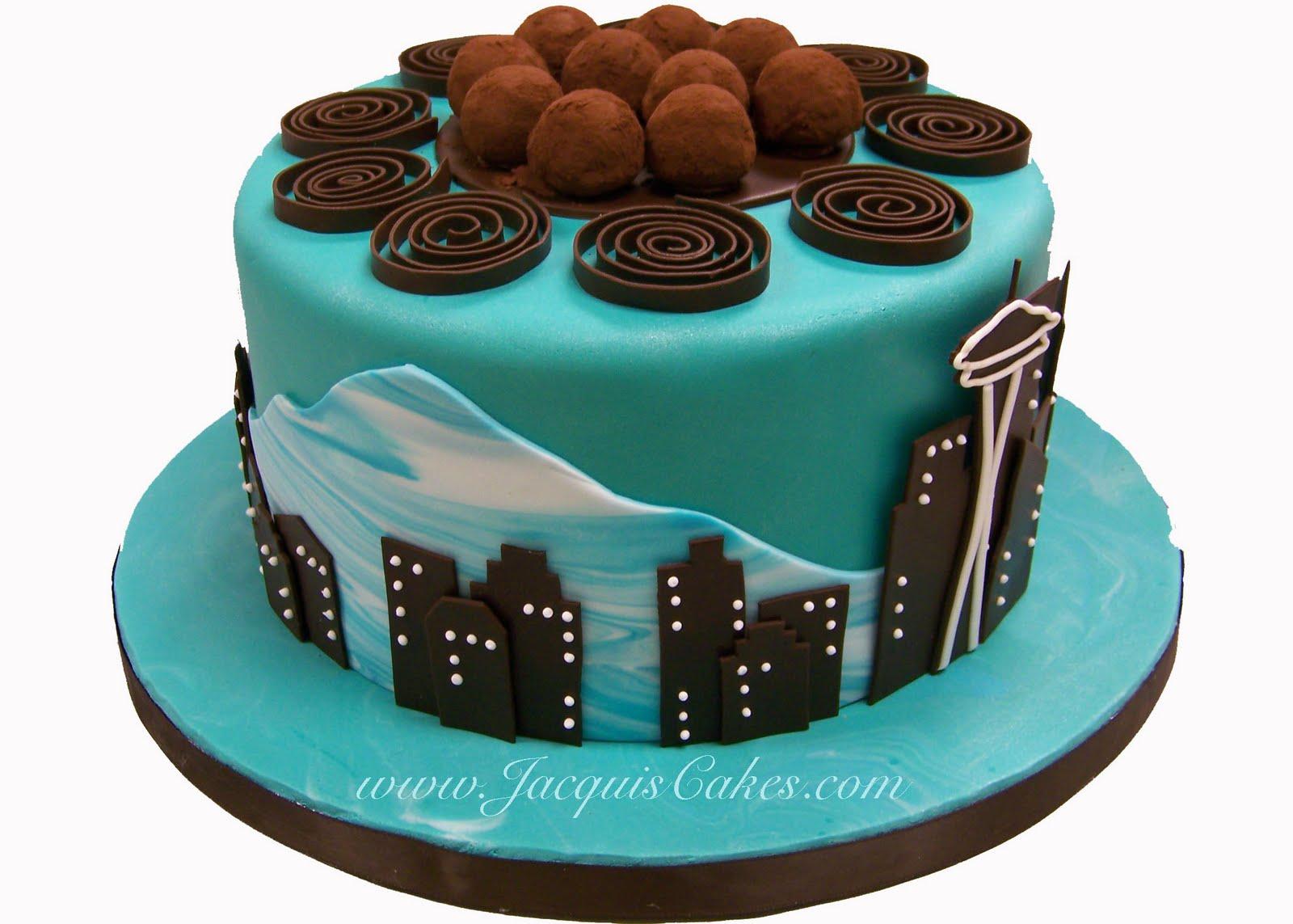 Seattle Seahawks Birthday Cake