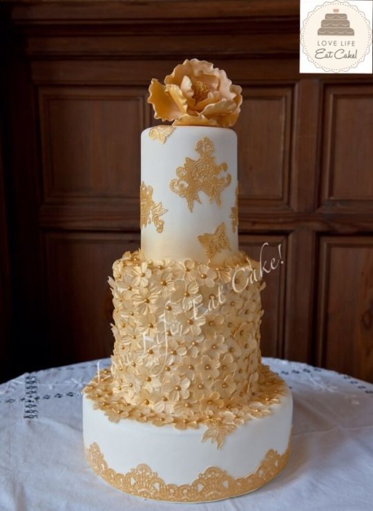 Second Marriage Wedding Cakes