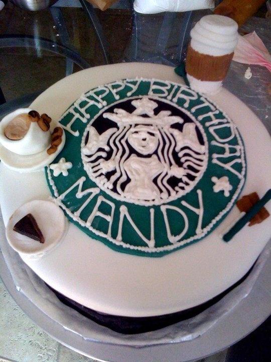 Starbucks Birthday Cake Logo