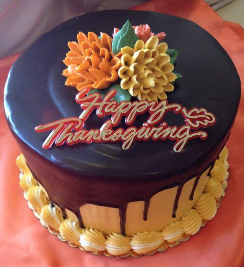 Thanksgiving Holiday Cake