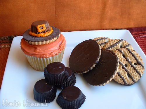 Thanksgiving Turkey Cupcake Idea
