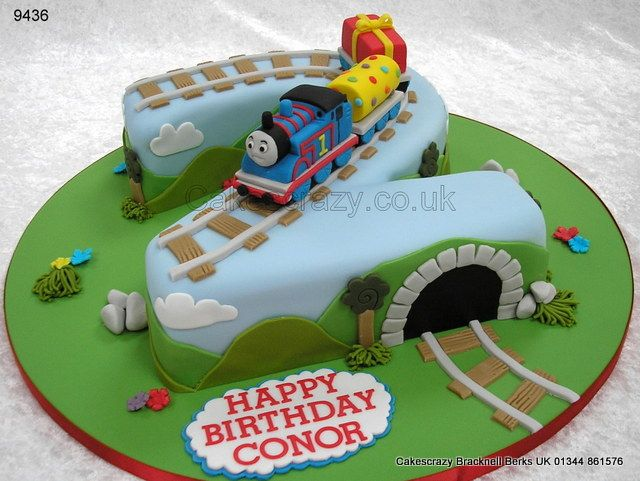 Thomas the Train Birthday Cakes Number 2