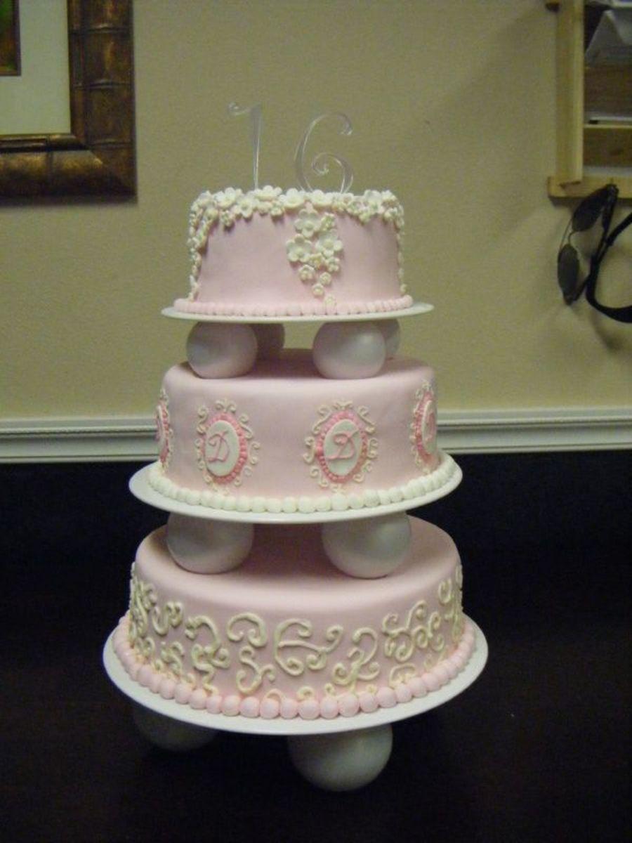 Tiered Bundt Cake