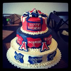 University of Arizona Cake Decorations
