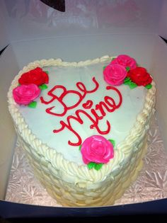 Valentine Rose Cupcake Cake