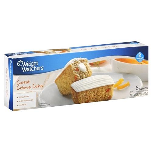 Weight Watchers Carrot Cake Creme