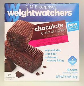 Weight Watchers Chocolate Cream Cake
