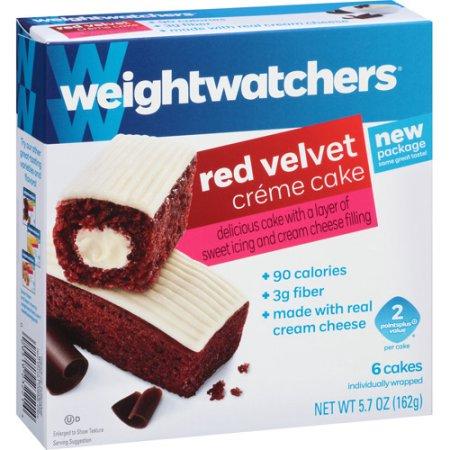 Weight Watchers Chocolate Creme Cakes Walmart