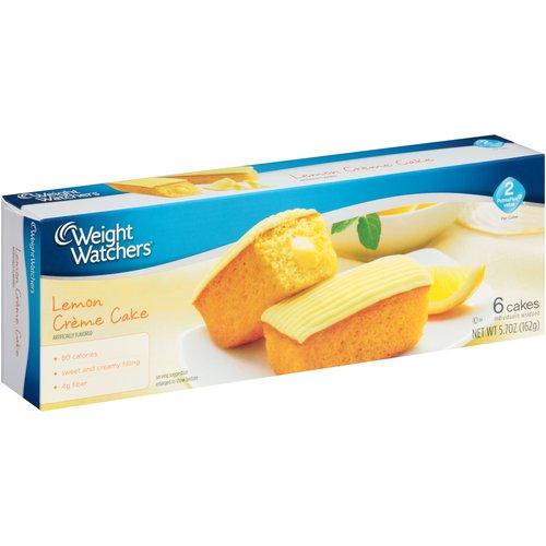 Weight Watchers Lemon Creme Cake