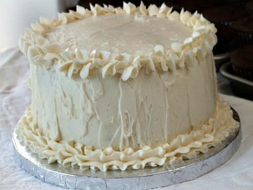 White Wedding Cake Recipe