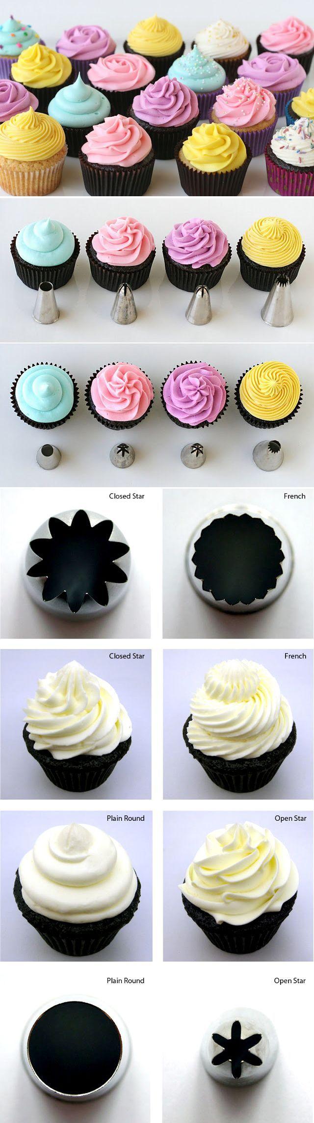 Wilton Cupcake Piping Tips