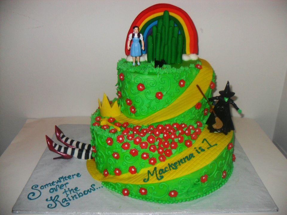 Wizard of Oz Happy Birthday Cake