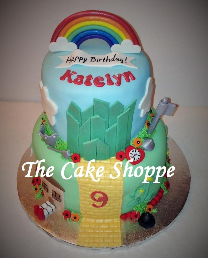 Wizard of Oz Themed Cake