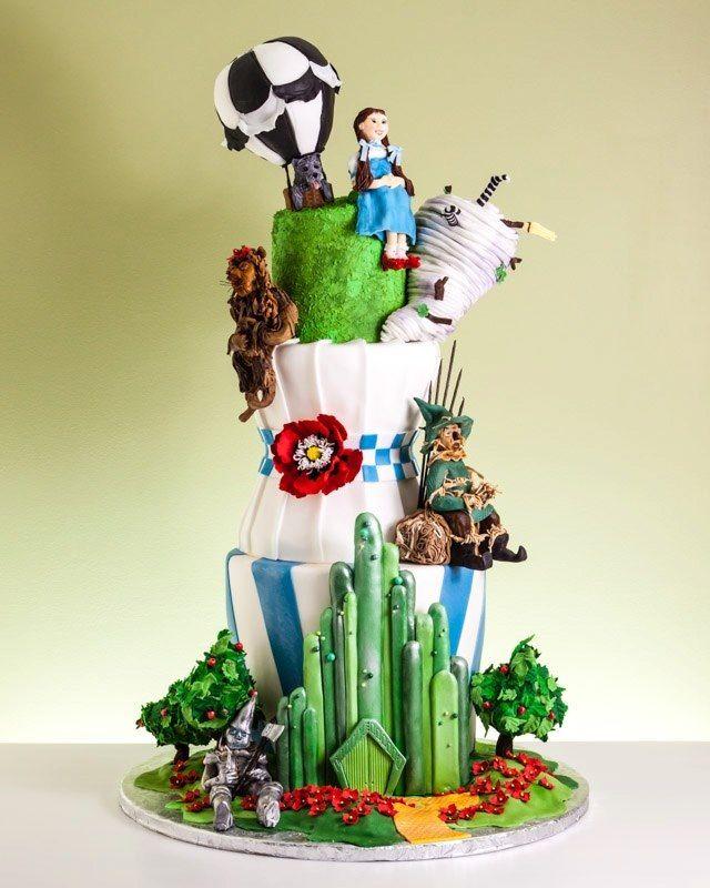 Wizard of Oz Wedding Cake