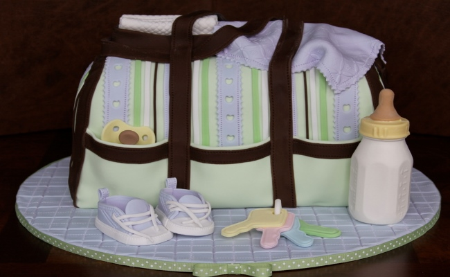 12 Photos of Different Kinds Of Baby Diaper Cakes
