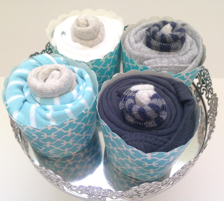 Baby Shower Cupcake Onesies Gift