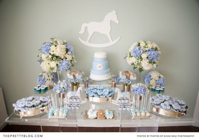 9 Photos of Pony Girl Baby Shower Cakes