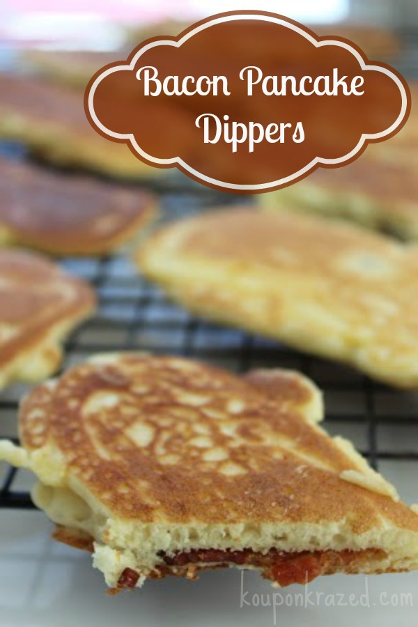 Bacon Pancake Dippers Recipe