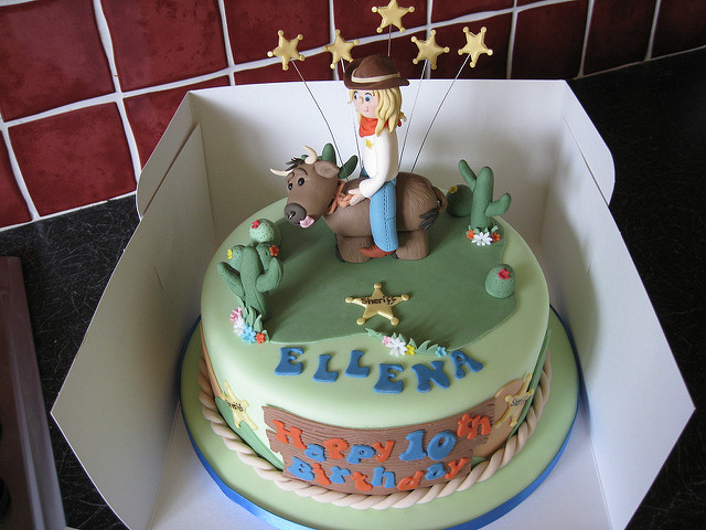 Bull Rodeo Birthday Cakes