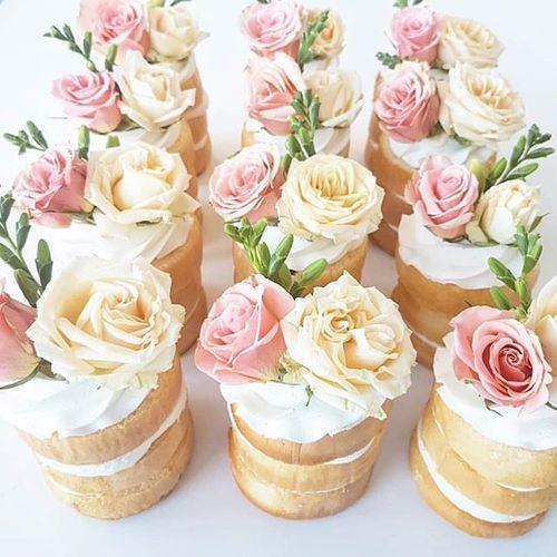 7 Photos of Shower Mini Individual Wedding Cakes