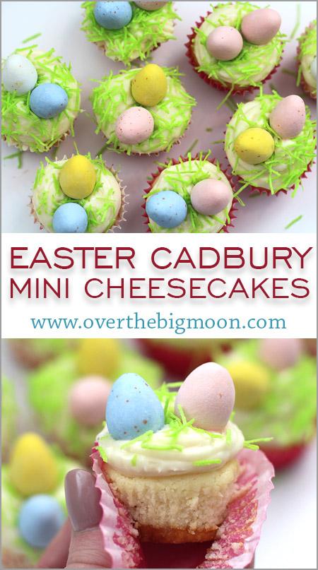 Cadbury Mini Easter Cheesecakes
