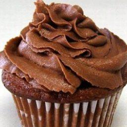 Chocolate Cupcakes with Cake Mix Sour Cream