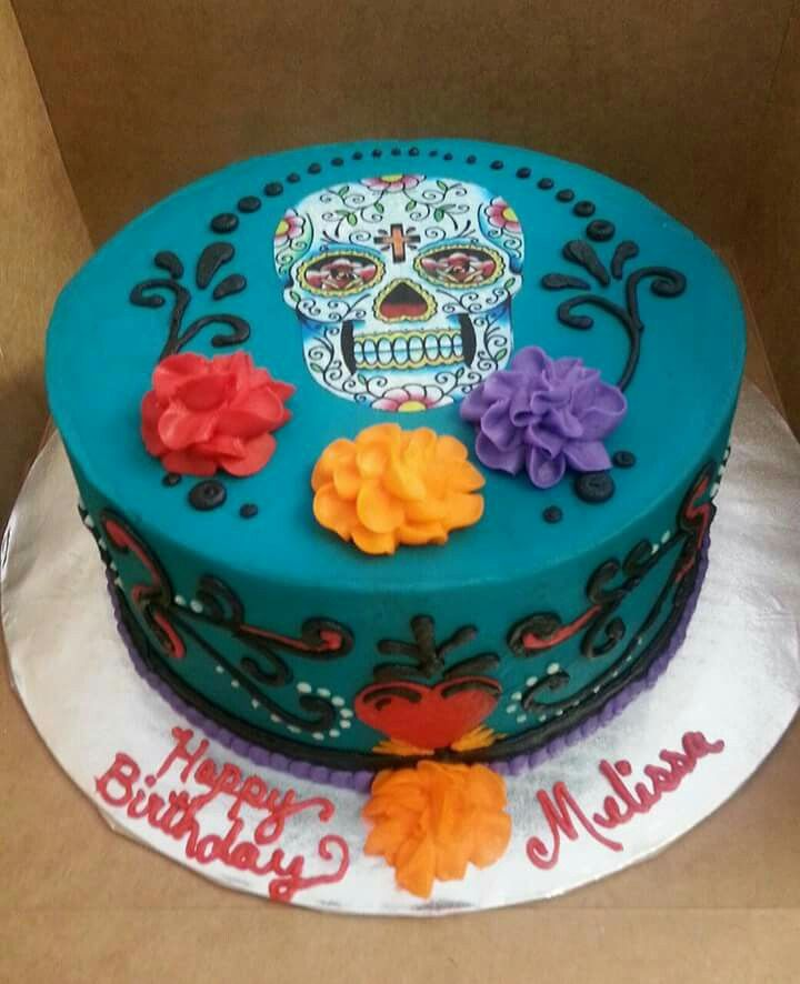 Day of the Dead Birthday Cake Ideas