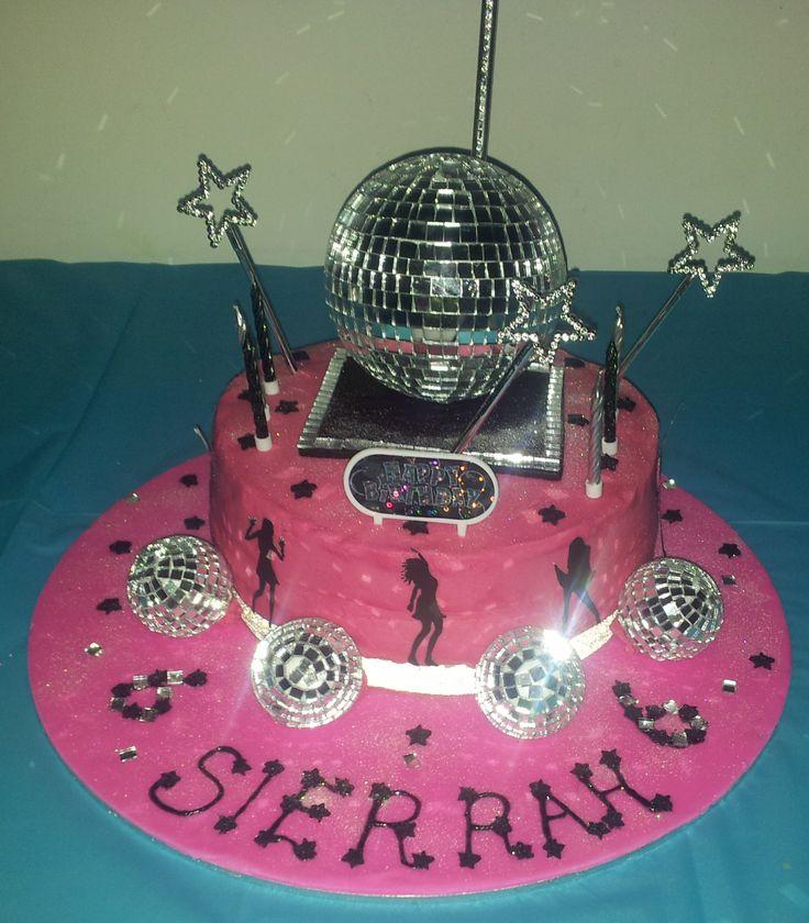Disco Birthday Cake Ideas
