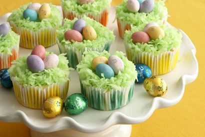 Easter Cheesecake Cupcakes