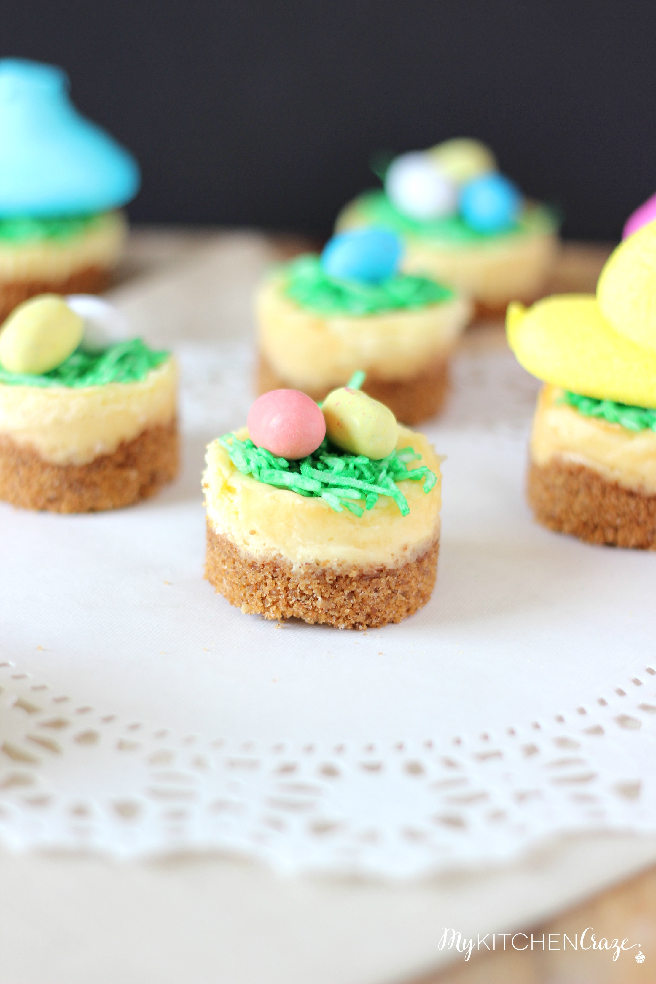 9 Photos of Mini Easter Cheesecakes