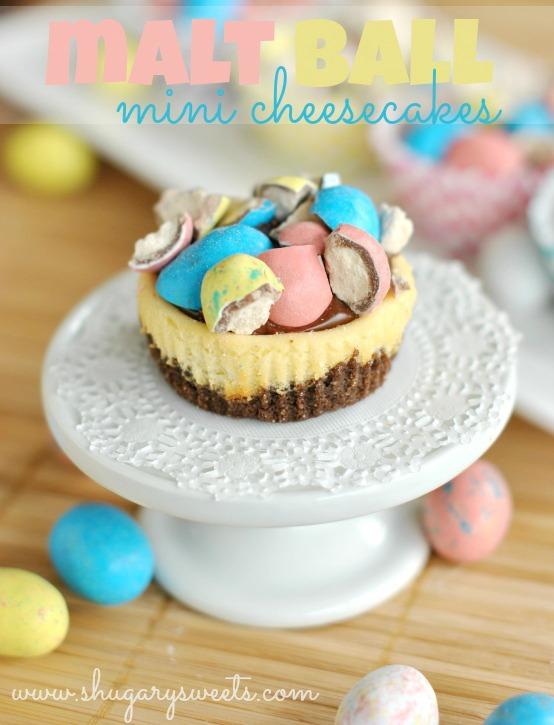 Easter Mini Cheesecakes Philadelphia