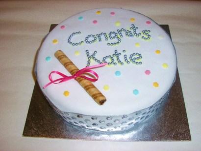 Easy Graduation Cake Decorating Ideas