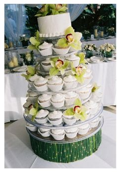 Emerald Green Cupcake Wrappers