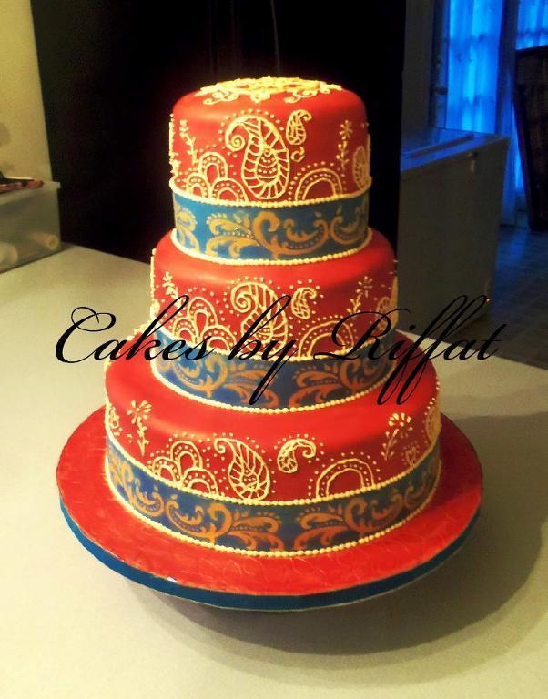 Fondant Cake Decorating Idea