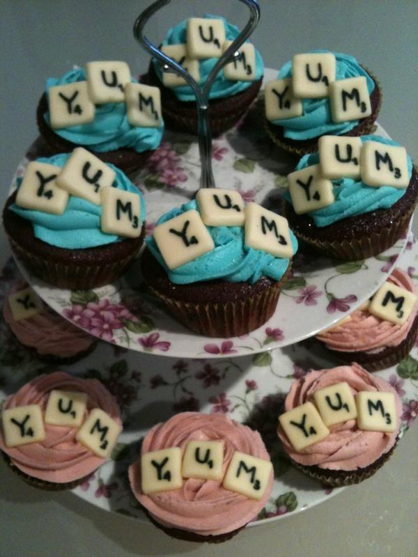 Game Night Cupcake Idea
