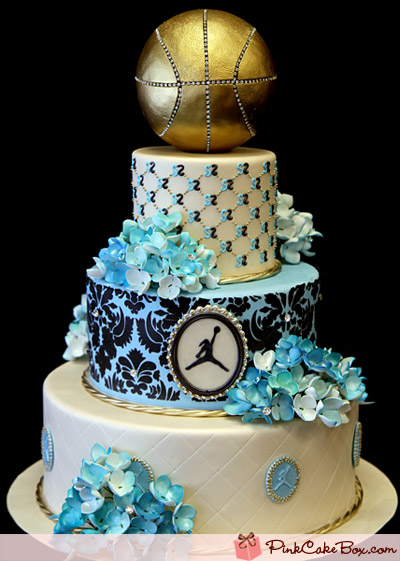 Girls Basketball Cake Ideas