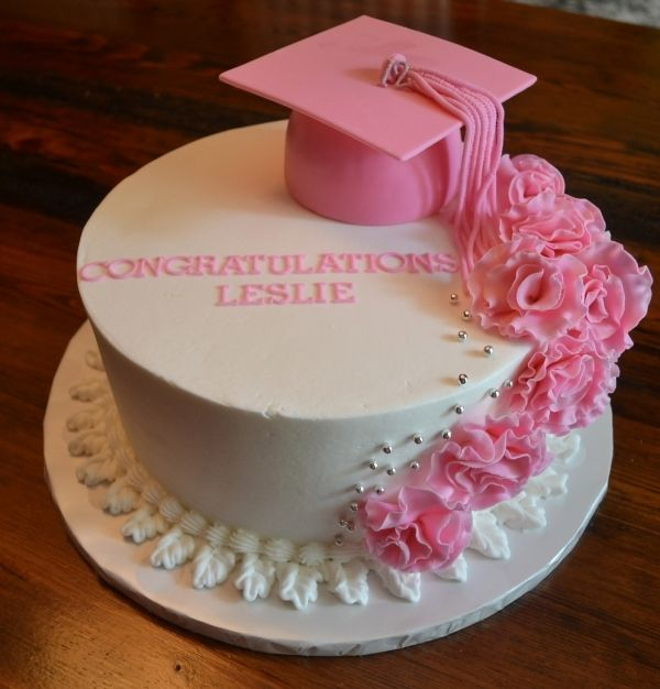 13 Photos of Simple Graduation Cakes For Girls